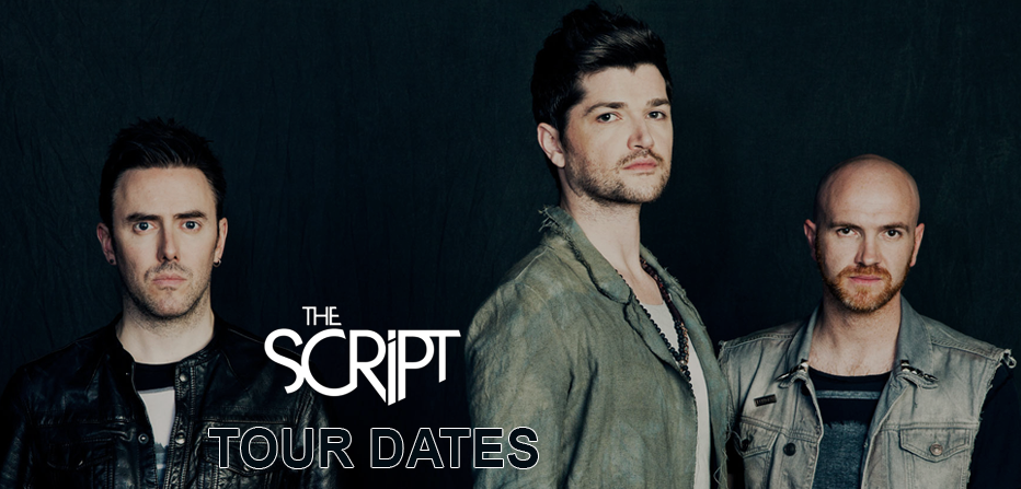 The Script Tour 2017 – 2018